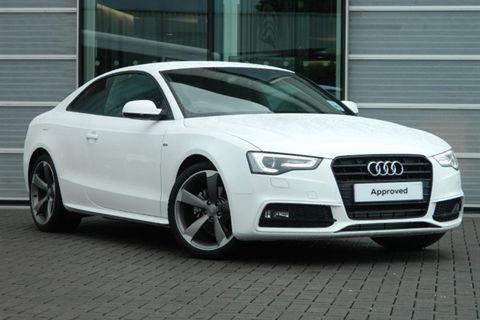 A5 8T Etumaski Gloss Black Facelift 2012-