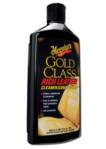 Meguiar's Gold Class™ Rich Leather Cleaner/ Conditioner Nahan puhdistus- ja hoito-aine
