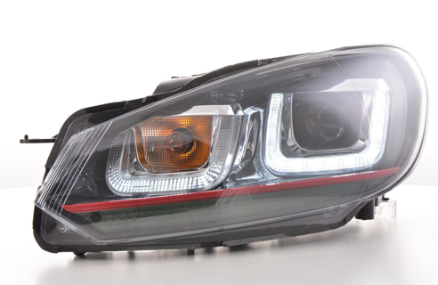 Golf VI LED Daylight -ajovalot, GTI mk7-look 2008-2012
