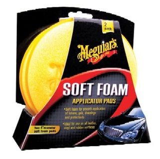 Meguiar's Soft Foam Applicator Pad Vahanlevitystyyny
