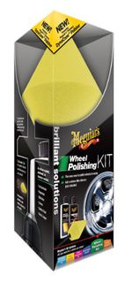 Meguiar's Brilliant Solutions Wheel Polishing Kit Vanteiden ja metallipintojen hoitosarja