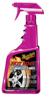 Meguiar's Hot Rims® All Wheel Cleaner Vannepuhdistusaine sumutinpullossa