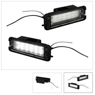 LED- valomodulit rekisterikilvenvaloihin Golf, Polo, Passat, Superb